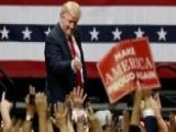 Trump Campaigning In Ohio, Indiana And Missouri