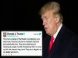 Trump Vents Frustrations With Russia Probe On Twitter