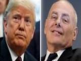 Trump Confirms John Kelly Will Eventually 'move On'