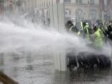 Tear Gas, Water Cannons Used In France Fuel Protests
