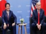 Trump Meets With Japanese PM Abe At G20 Summit