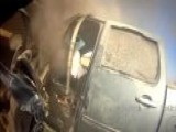 Texas Deputy Saves Man From Burning Truck