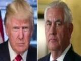 Trump Tweets That Rex Tillerson Is 'dumb As A Rock'
