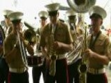US Marine Corps Band Perform Live