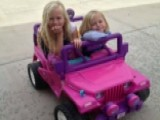 Utah Cops Ticket Family Barbie Car