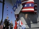 US Navy Christens Newest Aircraft Carrier