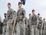 US Troops Arrive In Eastern Europe To Send Message To Russia