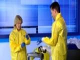 Uncut: Greta's Ebola Hazmat Suit Simulation