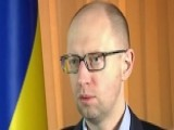 Ukraine Prime Minister Says There Is No Cease Fire