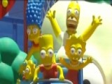 Universal Studios Welcomes 'Simpsons' Fans To Springfield