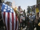 US Flag Burned In Massive Pro-Palestinian Rally In Iran