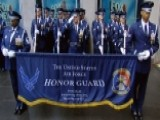 USAF Honor Guard Drill Team Performs 'The Gauntlet'