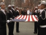 U.S. Navy Ceremonial Guard Presents Flag To 9 11 Memorial