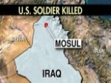 US Soldier Killed In Iraq By Direct Fire From ISIS
