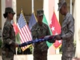 US And NATO Forces Honor 9 11 Victims At Ceremony In Kabul