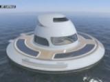 UFO Sighting? Futuristic Floatingvilla Making Wave