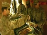 US Troops Celebrate Thanksgiving Abroad