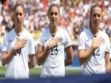 US Soccer Players Required To Stand For Nat'l Anthem