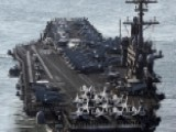 US Navy Aircraft Carrier Heads Back Toward Korean Peninsula