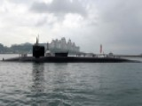 US Missile-armed Submarine Docks In South Korea