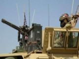 US Marine Vehicles Deploy To Syria-Turkey Border