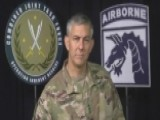 US Commander Commends Iraqi Forces In Fight Against ISIS
