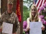 US Marine's Fiancee Shares Her Story As A #ProudAmerican