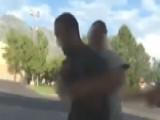 Utah Good Samaritan Takes Down Man Who Threatened Cop