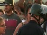 Violent Riots In Anaheim