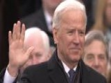 Vice President Biden Takes Public Oath Of Office