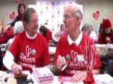 Valentines Volunteers Spread Message Of Love