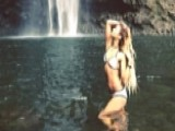 Vanessa Hudgens Posts Sexy Waterfall Pic