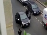 Video Shows Gunmen In Paris Escaping In Getaway Car