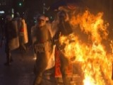 Violent Protests In Greece As Rioters Clash With Police