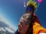 Virginia Grandma Loses Dentures While Skydiving
