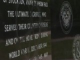 Veterans Memorial Marred By Spray-painting Vandals