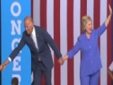 VP Biden Makes Debut Campaign Appearance With Clinton