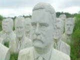 Virginia Field Home To Giant Busts Of Past Presidents