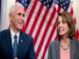 VP-elect Pence Meets With House Minority Leader Pelosi