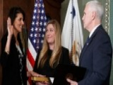 VP Pence Swears In Nikki Haley As US Ambassador To UN