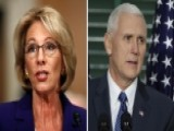 Vice President Pence To Cast The Deciding Vote On DeVos