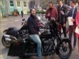 Veteran Receives New Harley-Davidson On 'Fox & Friends'