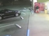 Video Shows Woman Attacked While Standing At Redbox Machine