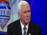 VP Pence On Sanctuary Laws, Immigration Reform And Joy Behar
