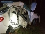 Violent Crash Between Truck, Car Leaves Family Of Four Dead