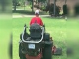 Vet's Business Gifted Lawn Equipment After Gear Was Stolen