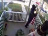 Veteran, FedEx Driver Is Seen On Camera Folding Fallen Flag