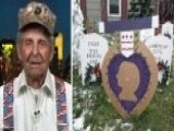 Veteran Uses Grand Holiday Display To Thank Military