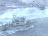 Water Fight Breaks Out On East China Sea