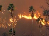 Wildfire Near Los Angeles Threatens Homes